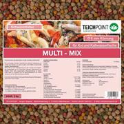 Koifutter Multi-Mix 5 kg 6 mm Ganzjahresfutter für Koi und Teichfische