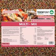 Koifutter Multi-Mix 5 kg 3 mm Ganzjahresfutter für Koi und Teichfische