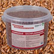 Teichpoint Gammarus Bachflohkrebse 3 Liter/330g - Koifutter Reptilienfutter