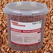 Teichpoint Gammarus Bachflohkrebse 10 Liter/1100g - Koifutter Reptilienfutter