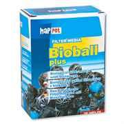 Happet Bioball plus - 26 mm Biobälle mit Bioschwamm 50 Stück