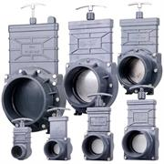 Xclear PVC Zugschieber Serie