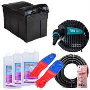 Aquaforte Teichfilter Set TFS 12000 mit UV-C Klärer 18 Watt für Teiche bis 12000 Liter