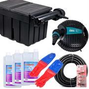 Aquaforte Teichfilter Set TFS 18000 mit UV-C Klärer 36 Watt für Teiche bis 18000 Liter