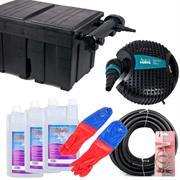 Aquaforte Teichfilter Set TFS 25000 mit UV-C Klärer 36 Watt für Teiche bis 25000 Liter