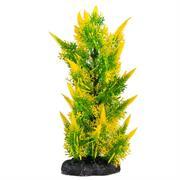 Grün gelbliche Aquarium Pflanze 24 cm RP318