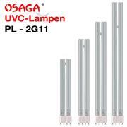 OSAGA UVC Ersatzlampe PL mit Sockel 2G11