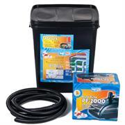 Happet BIO Teichfilter SET 10000 inkl. Pumpe und Spiralschlauch