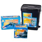 Happet BIO Teichfilter SET UV 10000 inkl. Pumpe, UVC Klärer und Spiralschlauch