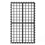 Filtermedienauflage schwarz 34x20x1,5 cm für Teichfilter