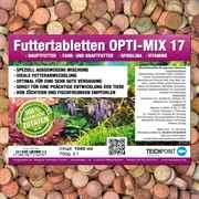 Futtertabletten OPTI-MIX 17 für Aquarium Zierfische 1000 ml