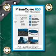 PVC Plane grün 650 g/m² 1,5 x 10 m (15m²)