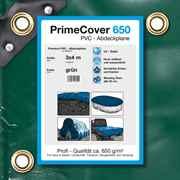 PVC Plane grün 650 g/m² 3 x 4 m (12m²)