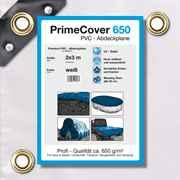 PVC Plane weiss 650 g/m² 2 x 3 m (6m²)