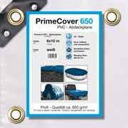 PVC Plane weiss 650 g/m² 8 x 10 m (60m²)