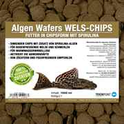 Algen Wafers Welsfutter in Chipsform mit Spirulina