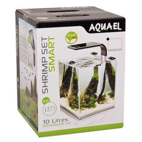 Shrimp Set Smart 10 Liter schwarz