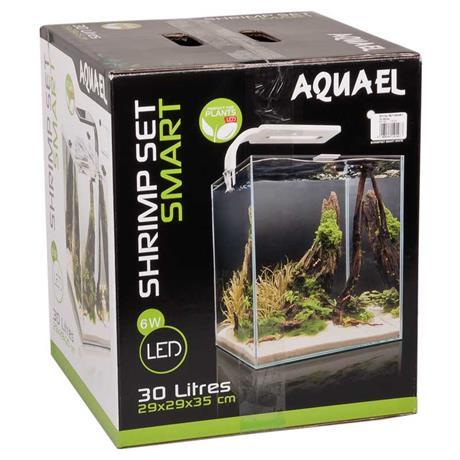 Shrimp-Set Aquael Smart 30 Liter weiss