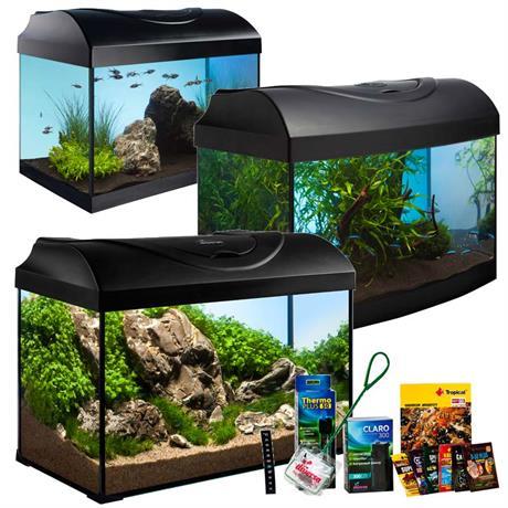 Diversa Anfänger Aquarium Startup Set mit Filter, Pumpe, Heizer und viel Zubehör