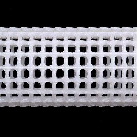 Das Gitterrohr im Detail mit seinen Öffnungen