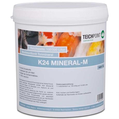 Montmorillonit Tonmineral K24 Mineral-M 1 kg