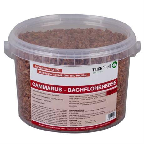 Teichpoint gammarus bachflohkrebse 3 liter 330g for Gartenteichfische shop