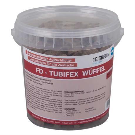 1 Liter Tubifex Schlammröhrenwürmer Fischfutter
