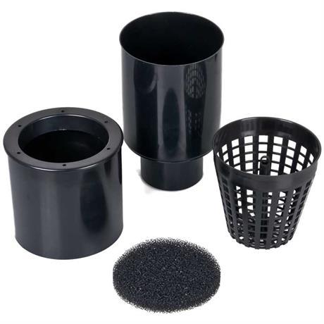 Teichskimmer mit 110 mm Rohranschluss für KG- und HT-Rohre