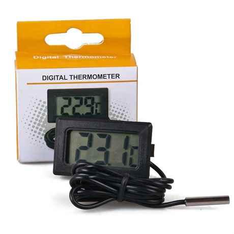 digitaler Thermometer für Teich und Aquarien TPM-10