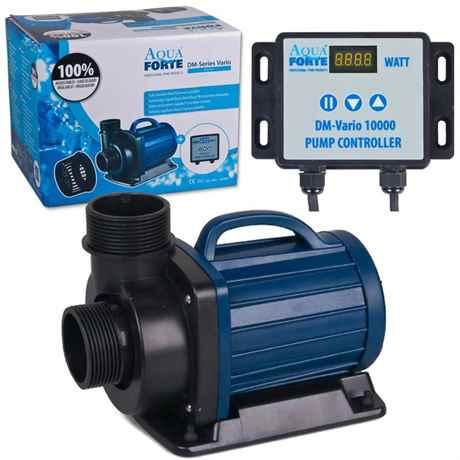 DM-Vario 10000 von AquaForte mit Controller und Verpackung