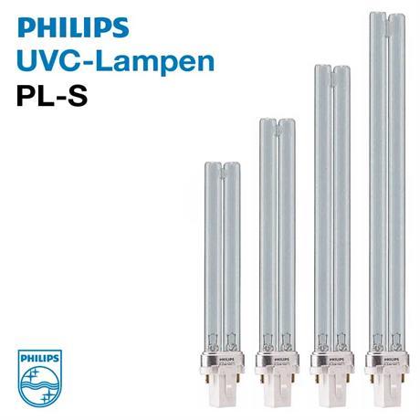 Philips UVC Ersatzlampe PL-S Sockel G23