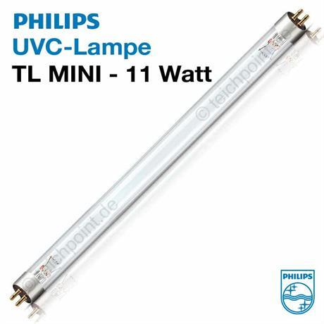11 Watt TL-Mini UVC Ersatz Röhre G11 T5