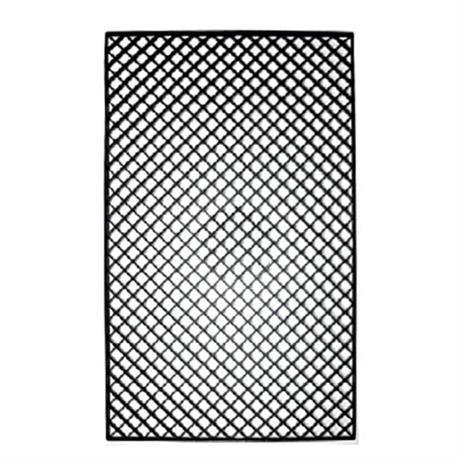 Filtermedienauflage schwarz 68x40x1,2 cm