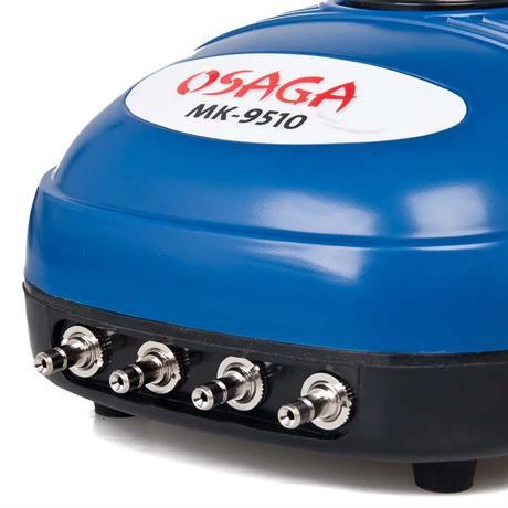 4 Ausgänge zeichnen den Osaga MK 9510 aus