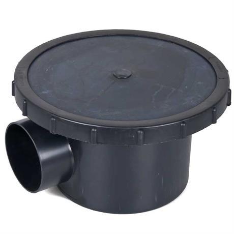 Aquaforte Bodenablauf mit Belüftungsmembrane