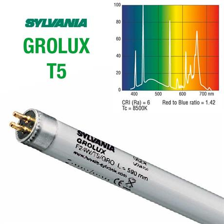 t5 leuchtstoff röhre sylvania grolux plant light