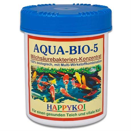 Aqua Bio 5 - Jumbo Dose 1500 ml für 250.000 Liter Koi Teich
