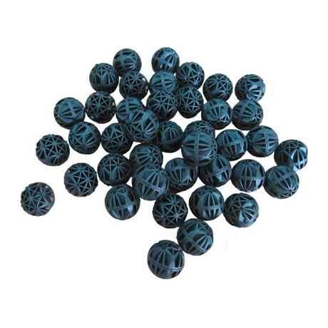 schwarze kunstoff Kugeln Bio Bälle mit innenerem Schwamm