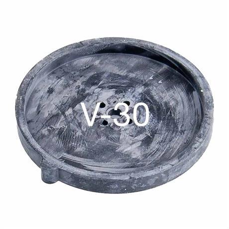 V-30 Ersatzmenbrane aus schwarzem Gummi