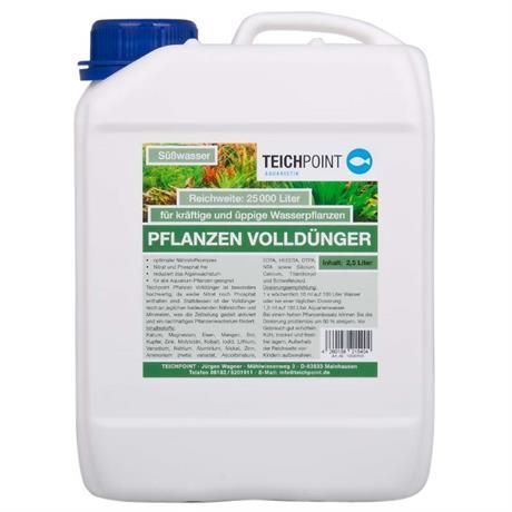 2,5 Liter Volldünger für Wasserpflanzen von Teichpoint