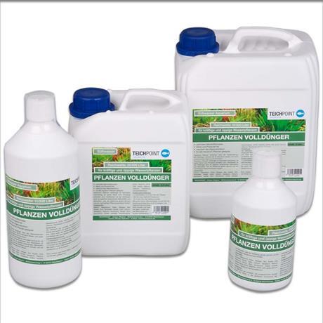 vollwertige Nährstoffe für Wasserpflanzen