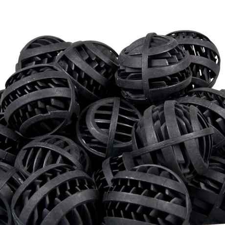 schwarze Kunststoff Bioballs Filtermedium