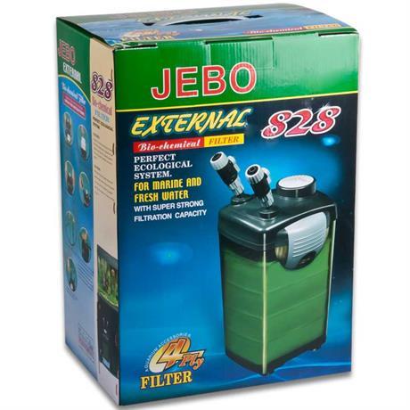 Aussenfilter für Süß- und Meerwasser Aquarien - JEBO 828