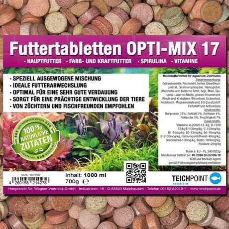 mix aus 17 sorten futtertabletten