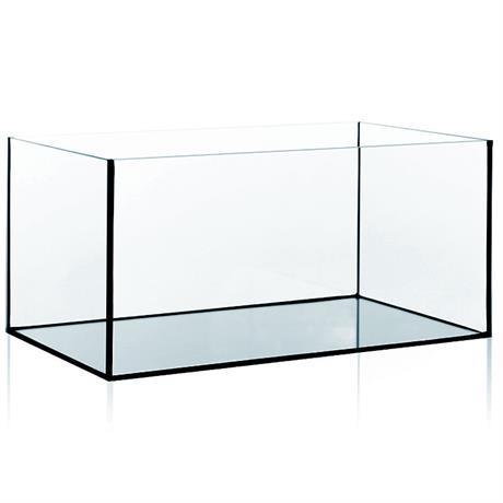 Glas Aquarium Becken für Aquaristik und Zucht 80x35x40 cm