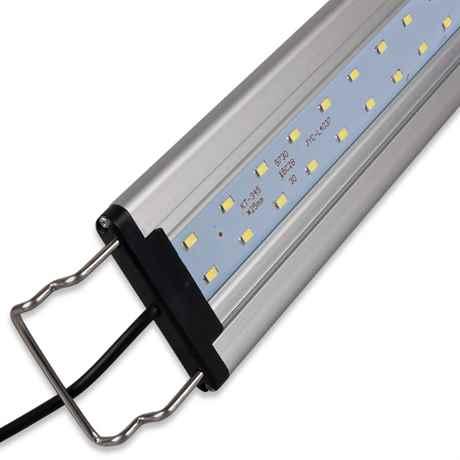 Die Halterung der LED Aquarium Lampe im Detail