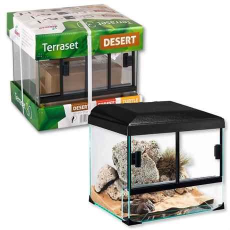 Diversa Terrarium Set DESSERT - Wüstenterrarium Komplettset
