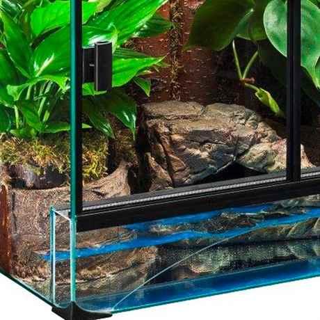 Diversa terrarium set turtle schildkr ten aquarium for Aquarium komplettset