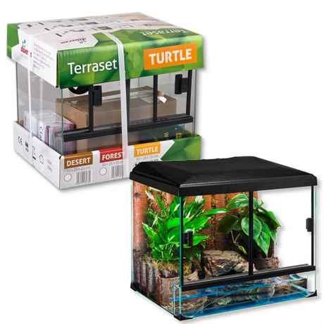Diversa Terrarium Set TURTLE - Schildkröten Terrarium