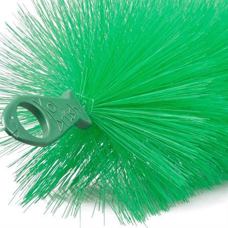Die typischen Koibrush Ringösen zur fixierung der Laichbürste im Teich
